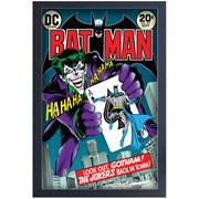 Batman #251 Joker's Back in Town Comic Cover Framed Art Print
