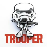 Star Wars Stormtrooper Mini 3D Light