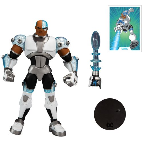 DC Multiverse Animated Wave 2 Animated Cyborg 7-Inch Action Figure