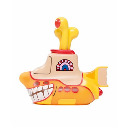 The Beatles Yellow Submarine Smiling Sub 6 1/2-Inch Titan Vinyl Figure