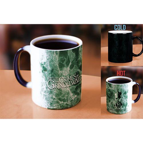 Fantastic Beasts: The Crimes of Grindelwald Pick A Side Heat-Sensitive Morphing Mug