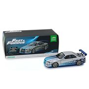 2 Fast 2 Furious (2003) - 1999 Nissan Skyline GT-R Artisan Collection 1:18 Scale Die-Cast Vehicle