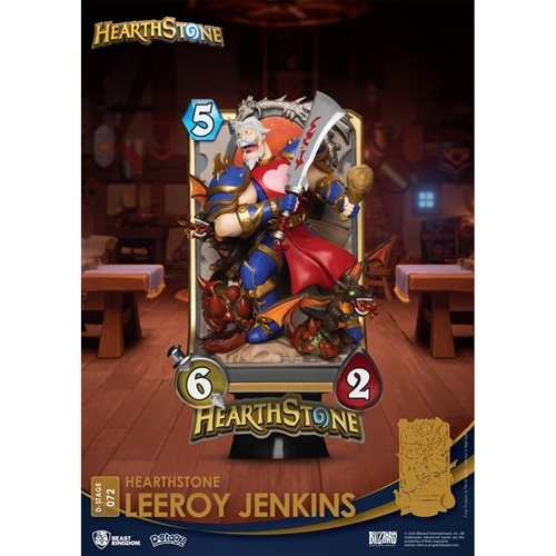 Hearthstone Leeroy Jenkins DS-072 D-Stage 6-Inch Statue