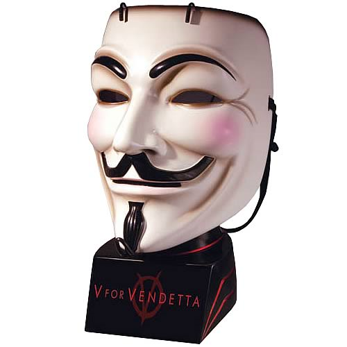 V for Vendetta Movie Mask Replica