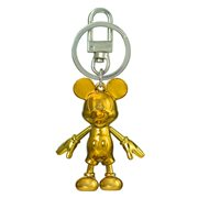 Mickey Mouse November Topaz Pewter Dangle Key Chain