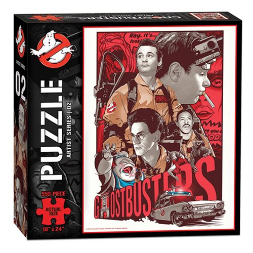 Ghostbusters Artist Series 02 550-Piece Puzzle