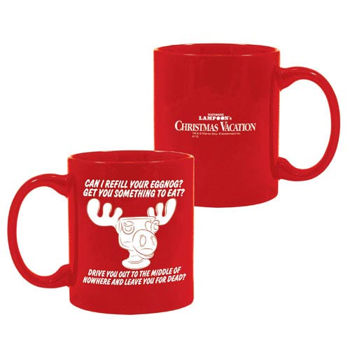 national lampoons christmas vacation red moose mug - National Lampoons Christmas Vacation Merchandise