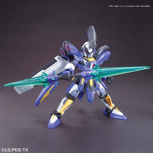 Little Battlers eXperience #9 Odin LBX Model Kit