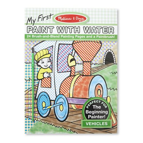 Melissa & Doug My First Paint with Water Vehicles