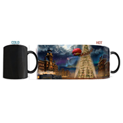 The Polar Express Thomas Kinkade Morphing Mug
