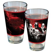 Star Wars: The Last Jedi Captain Phasma Electric Red Pint Glass