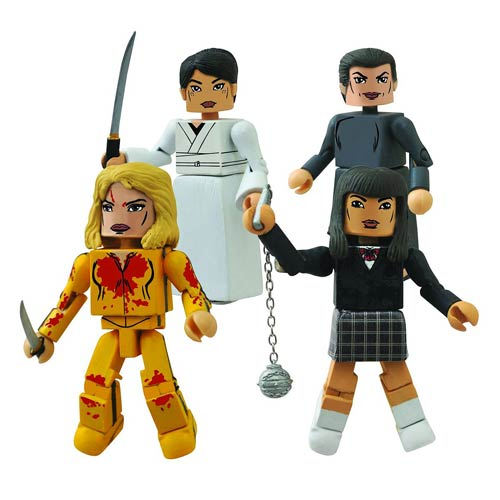 Kill Bill Minimates 10th Anniversary House of Blue Leaves Mini-Figure Box Set