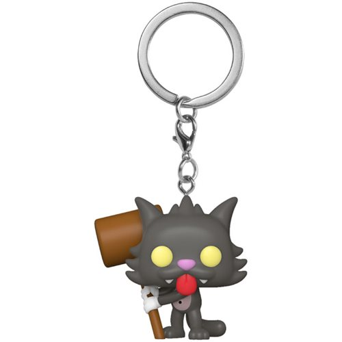 Simpsons Scratchy Pocket Pop! Key Chain