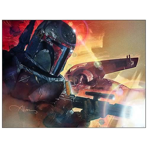 Star Wars Mr. Fett Paper Giclee Print