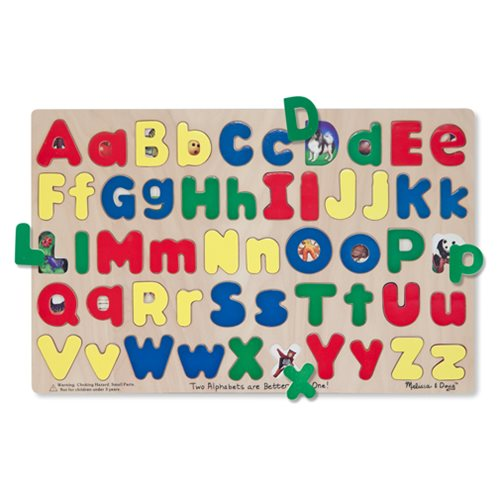 Upper & Lowercase Alphabet