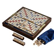 Scrabble Deluxe Travel Edition Game