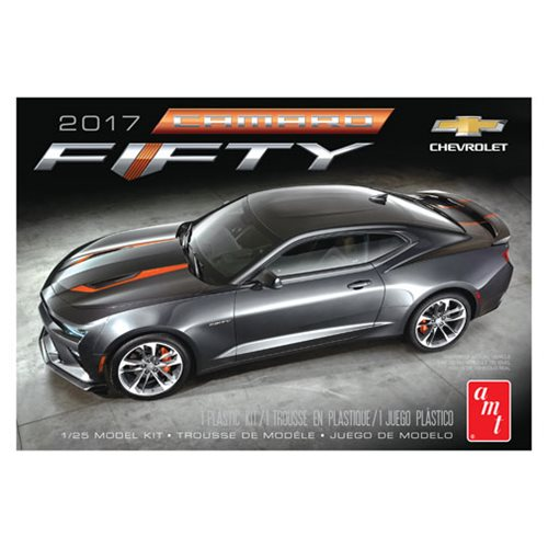 2017 Chevy Camaro 50th Anniversary 1:25 Scale Model Kit