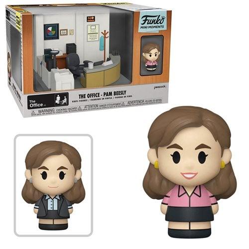 The Office Pam Mini Moments Mini-Figure Diorama Playset
