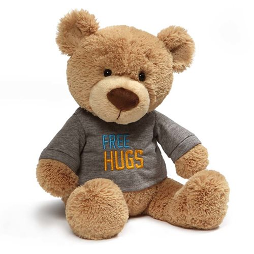 Free Hugs T-Shirt Teddy Bear Plush