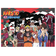 Naruto Shippuden Jinchuriki Group Wall Scroll