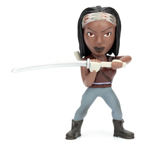 The Walking Dead Michonne 4-Inch Metals Die-Cast Action Figure