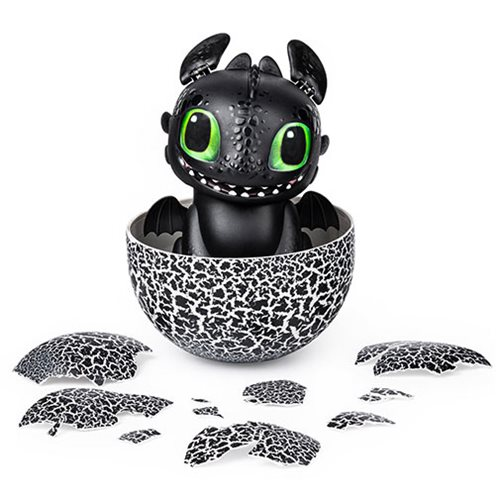 How To Train Your Dragon Hatching Baby Toothless Interactive Hatch Train Play