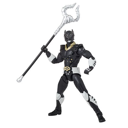 Power Rangers In Space Psycho Black Ranger Action Figure