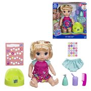 Baby Alive Potty Dance Baby Doll - Blonde Straight Hair