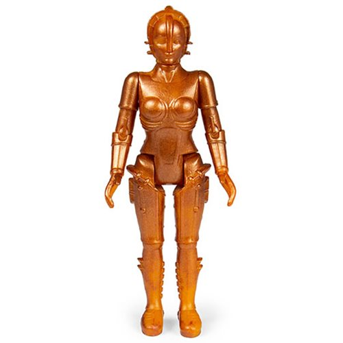 Metropolis Gold Maria 3 3/4-Inch ReAction Figure