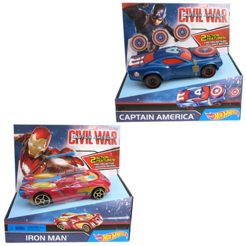 Hot Wheels Marvel Deluxe Character Car Case