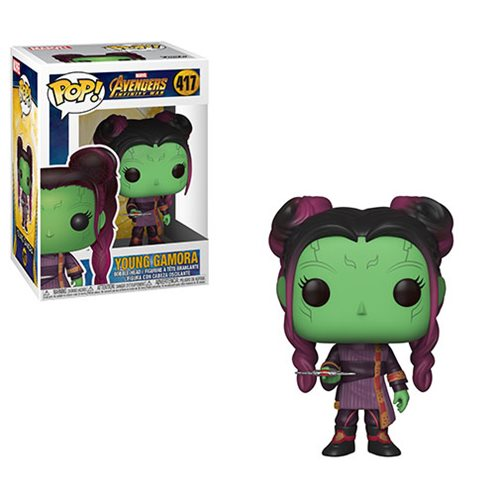 Avengers: Infinity War Young Gamora with Dagger Pop! Vinyl Figure #417