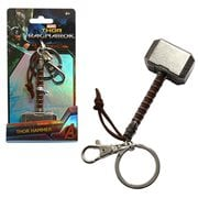 Thor The Dark World Hammer Pewter Key Chain