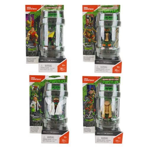 Mega Construx Teenage Mutant Ninja Turtles Mutation Pack Case