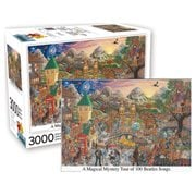 Beatles Inspired Magical Mystery Tour 3,000-Piece Puzzle
