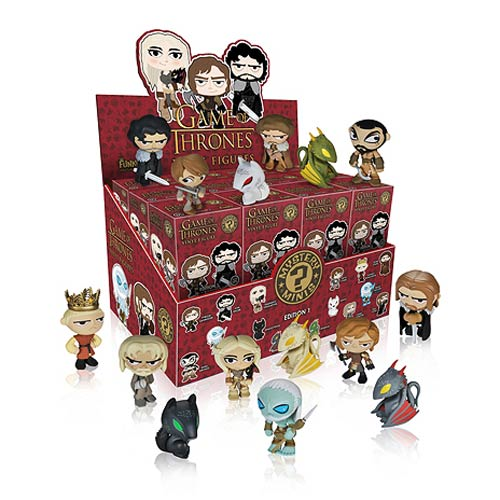 Game of Thrones Mystery Minis Series Mini-Figure Display Box