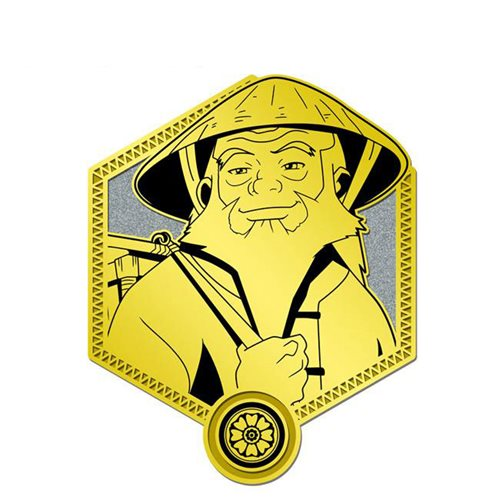 Avatar: The Last Airbender Gold Iroh Enamel Pin
