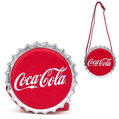 Coca-Cola Bottle Cap Crossbody Purse