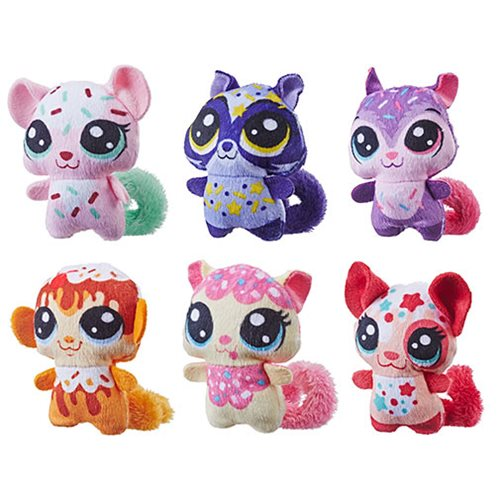 Littlest Pet Shop Hungry Pets Plush Wave 1 Set