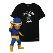 X-Men Cyclops Classic Costume Version EAA-085DX Action Figure with Large T-Shirt - Previews Exclusive