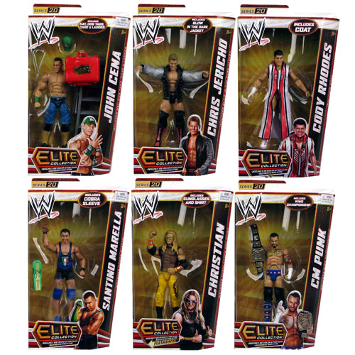 WWE Elite Collection 2012 Wave 20 Action Figure Case