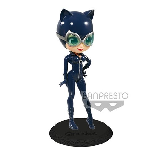 Batman Cat Woman Blue Version Q Posket Statue
