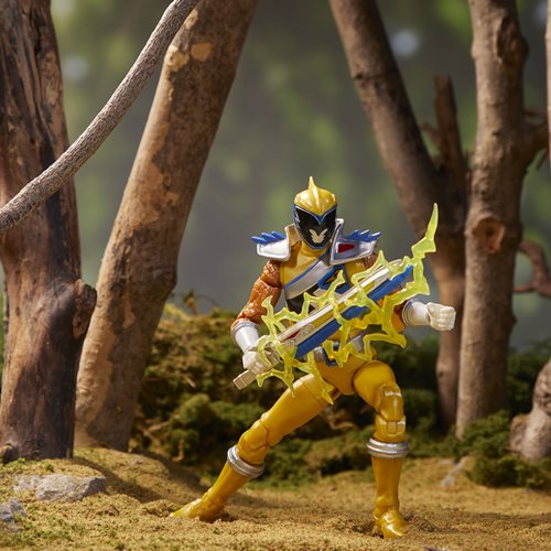 Power Rangers Lightning Collection Dino Charge Gold Ranger 6-Inch Action Figure