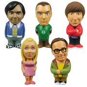 Big Bang Theory Stress Toy 5-Pack, Not Mint