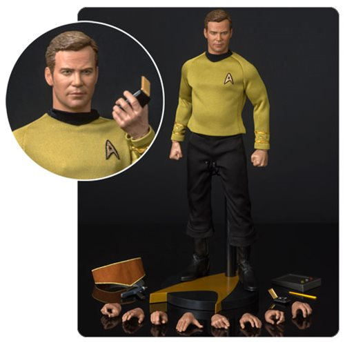 Star Trek The Original Series Captain Kirk 1:6 Scale Articulated Action Figure