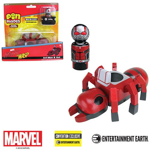 Ant-Man with Ant Pin Mates Wooden Collectibles Set - Convention Exclusive