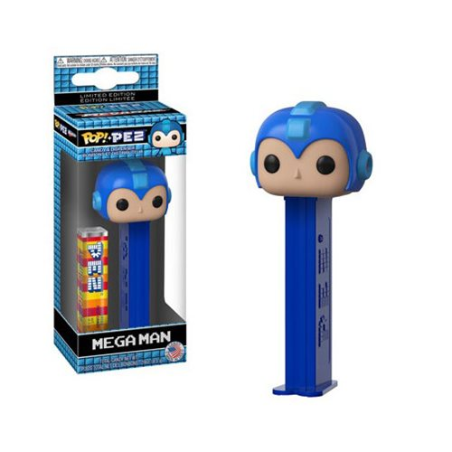 Mega Man Pop! Pez