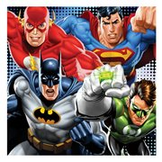 Justice League Charging League Canvas Print