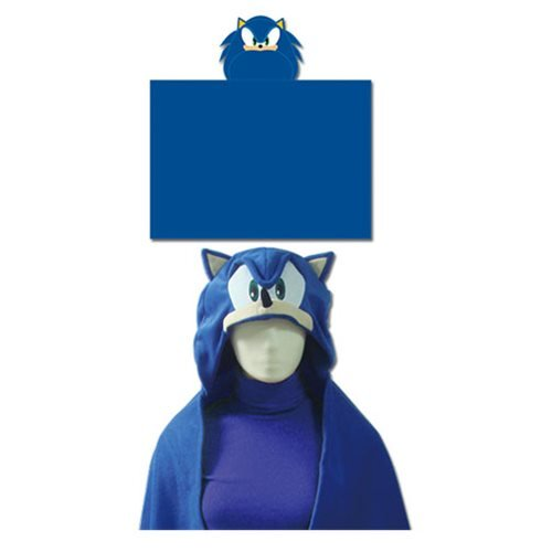 Sonic the Hedgehog Sonic Hooded Blanket