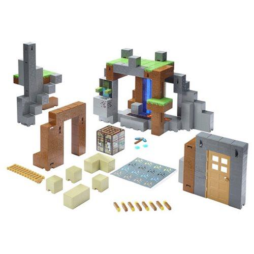 Minecraft Survival Mode Playset Entertainment Earth