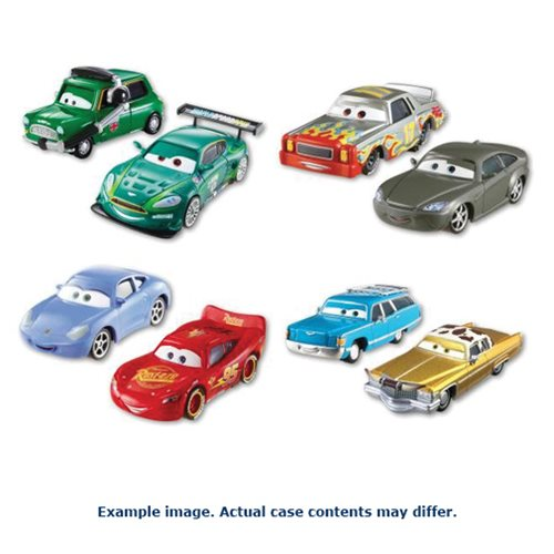 Cars Character Car Vehicle 2-Pack Mix 2 Case